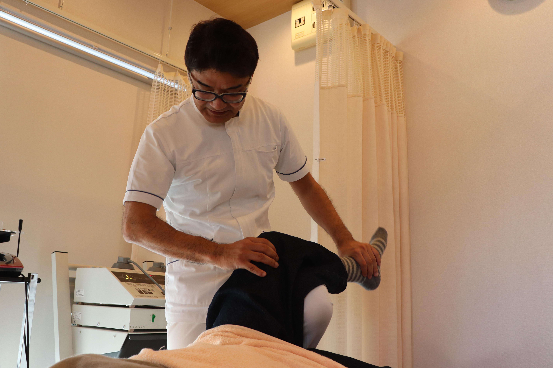 大阪府茨木市 茨木からだ整骨院 膝の痛みの治療